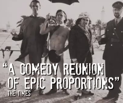 MONTY PYTHON LIVE (MOSTLY): IL TRAILER UFFICIALE