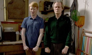 Domhnall Gleeson and Bill Nighy in About Time